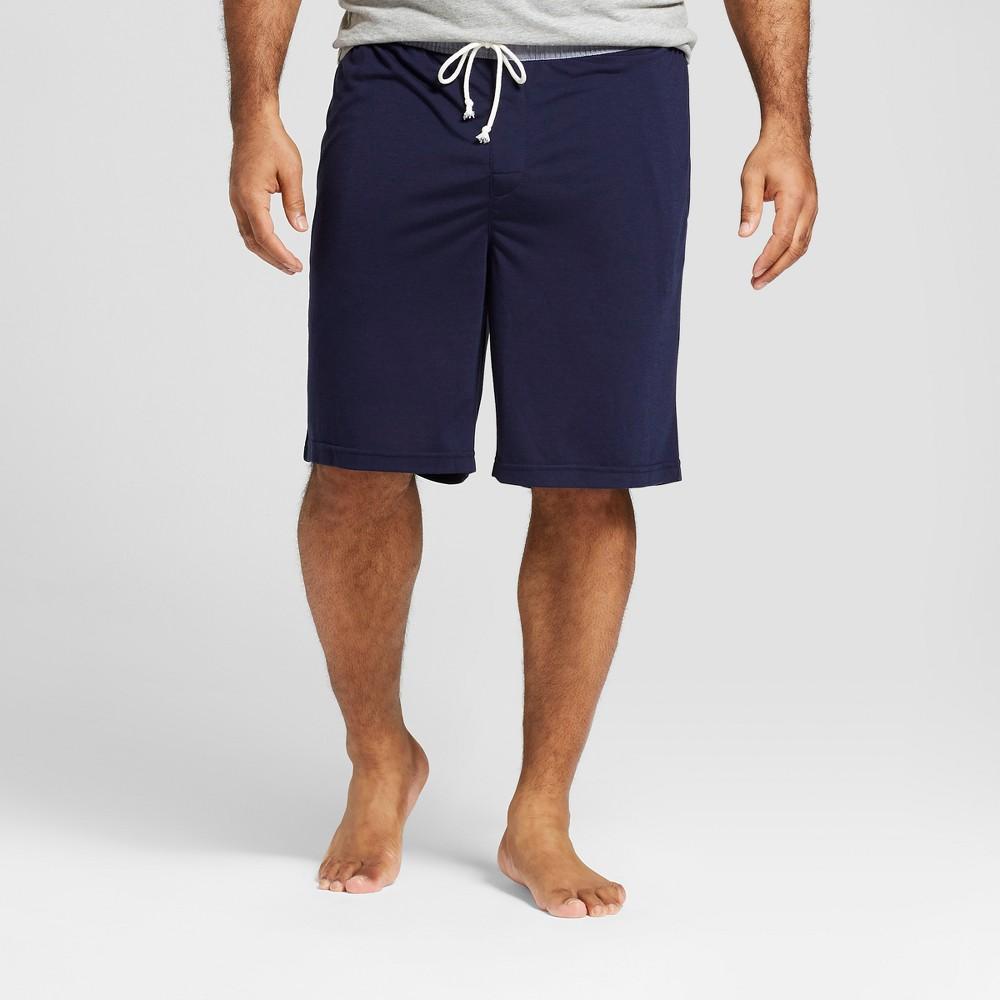 Men's Big & Tall Knit Pajama Shorts - Goodfellow & Co Navy (Blue) 4XB