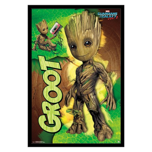Guardians Of The Galaxy 2 - Groot Framed Poster Trends International - image 1 of 4