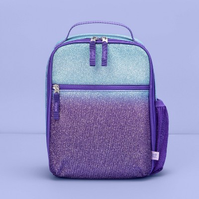 Kids' Lunch Tote Ombre Glitter - More Than Magic™