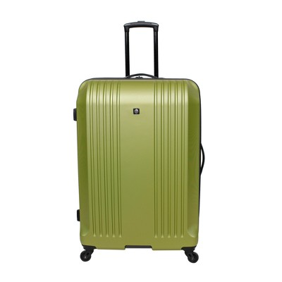 Skyline 28  Hardside Spinner Check In Suitcase - Lime