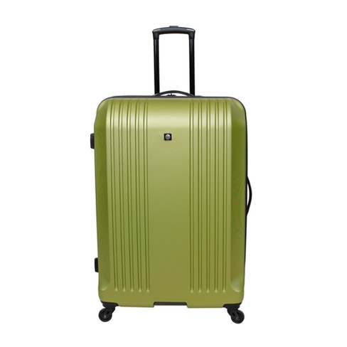 """Skyline 28"""" Hardside Spinner Check In Suitcase - Lime - image 1 of 4"""