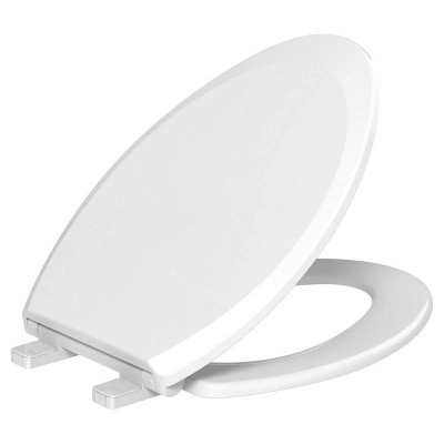 Night Glow Soft Closed Front Toilet Seat Blue - evekare