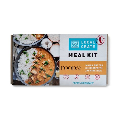 Local Crate Indian Butter Chicken With Jasmine Rice By Food52 Meal Kit 29 1oz Serves 2 Target