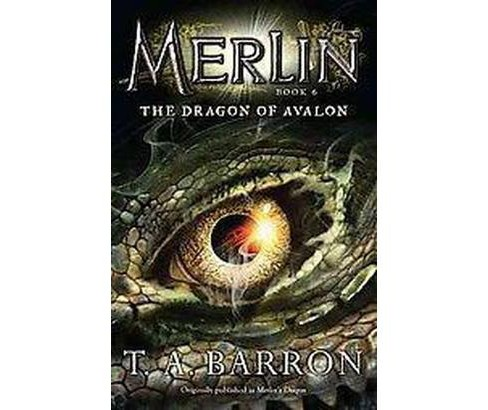 The Dragon of Avalon ( Merlin) (Reprint) (Paperback) - image 1 of 1