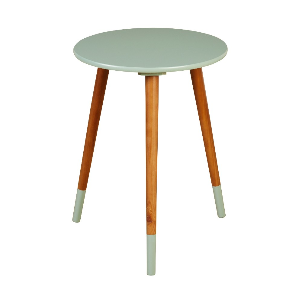 Julia End Table Mint (Green) - Buylateral