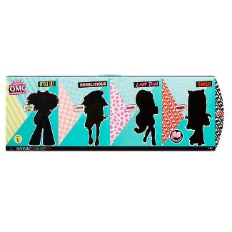 L.O.L. Surprise! O.M.G. 4pk – Complete Collection of Series 1 Fashion Dolls with 80 Surprises