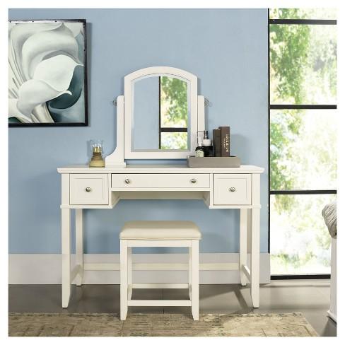 Vista Vanity Set White - Crosley - image 1 of 4