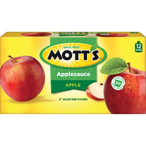Mott's Applesauce - 12ct/3.2oz Pouches - image 1 of 3