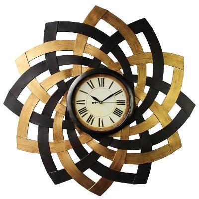 Wall Clock-Metal Petals - Home Source