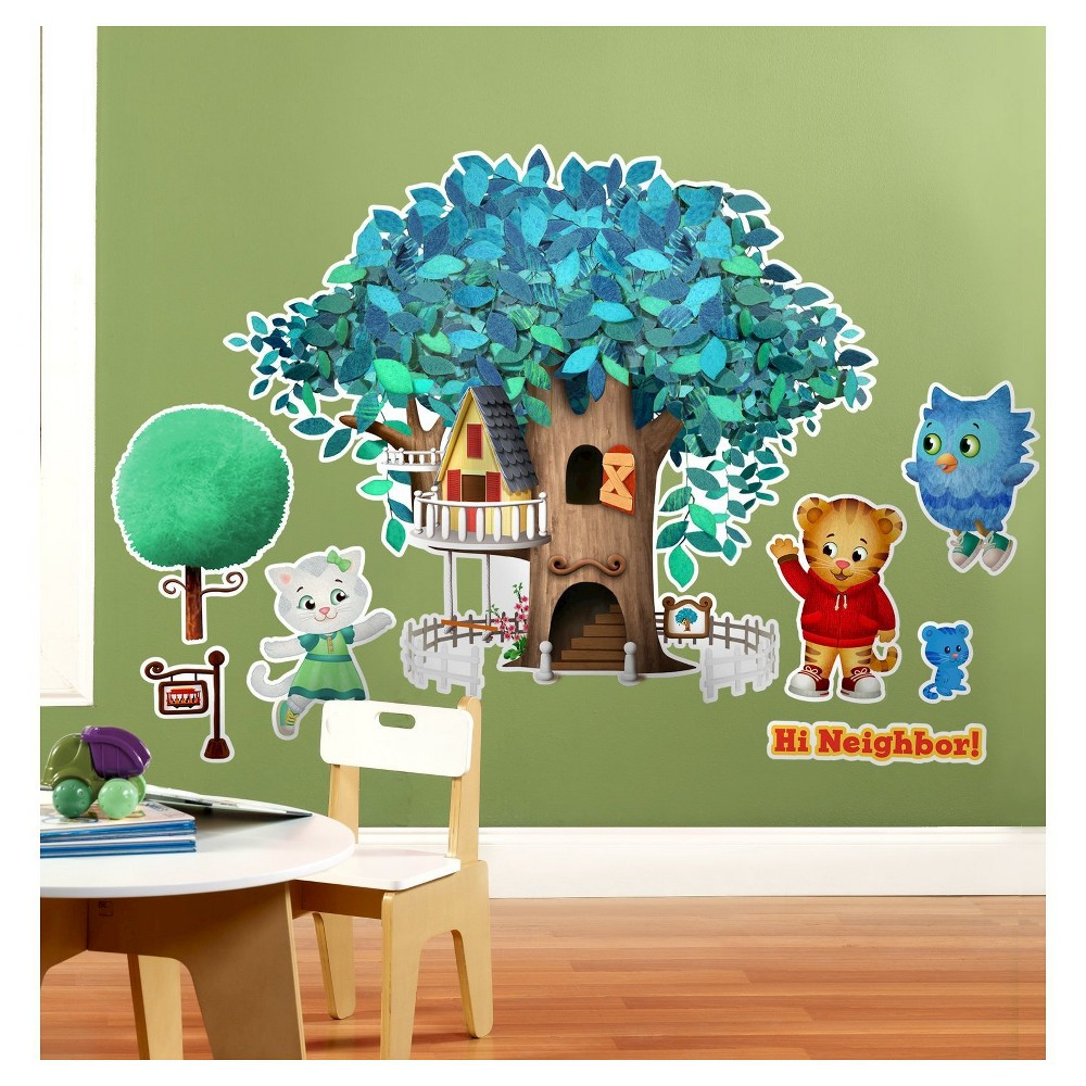 Image of Daniel Tiger's Neighborhood Wall Decal