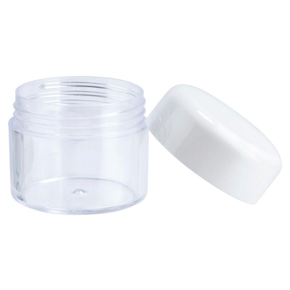 Image of Tsa Compliant Travel Cosmetic Jar - 1.25 fl oz - Up&Up, Abalone White