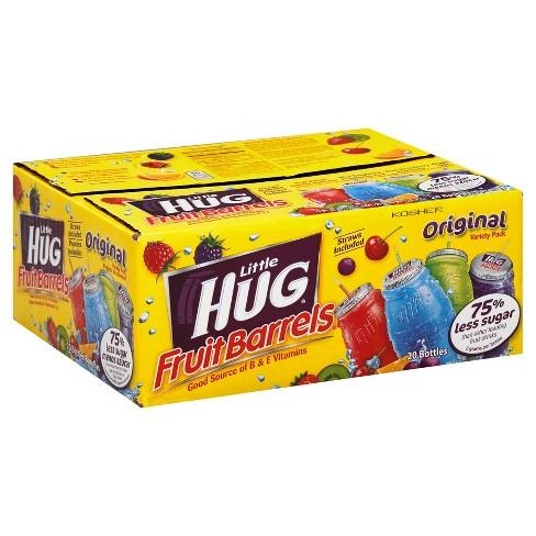 Little Hug Fruit Barrels - 20pk / 8 fl oz Bottles - image 1 of 4