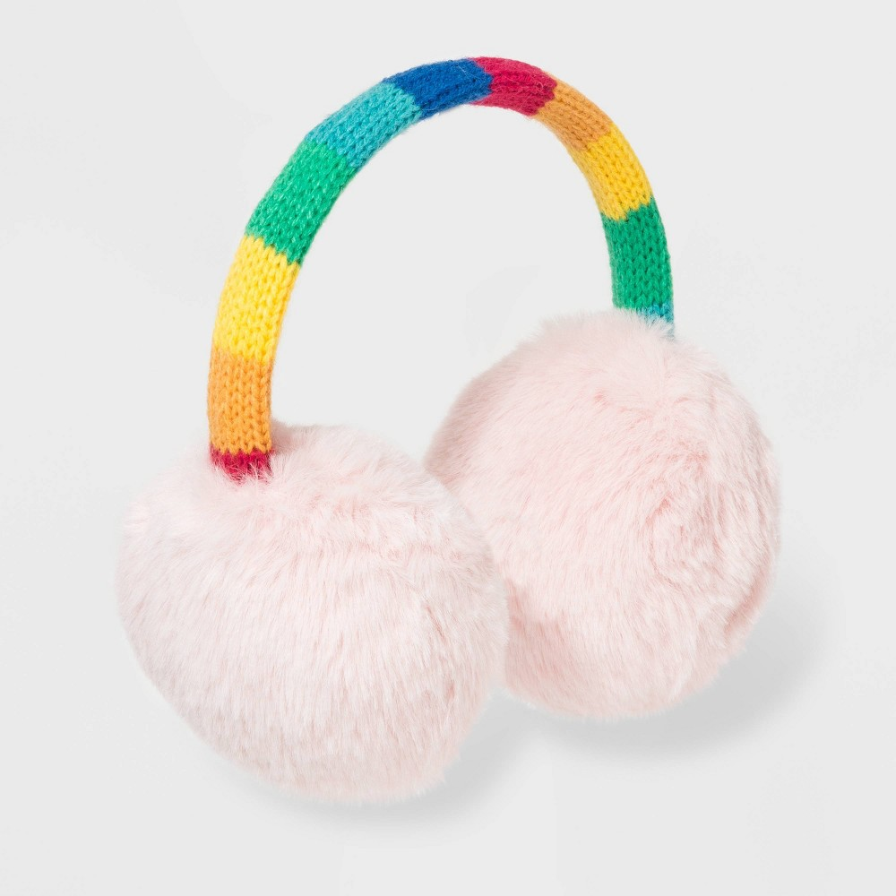 Image of Girls' Earmuffs - Cat & Jack Multi One Size, Girl's, MultiColored