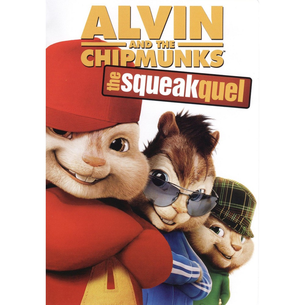 Alvin and the Chipmunks: The Squeakquel (dvd_video)