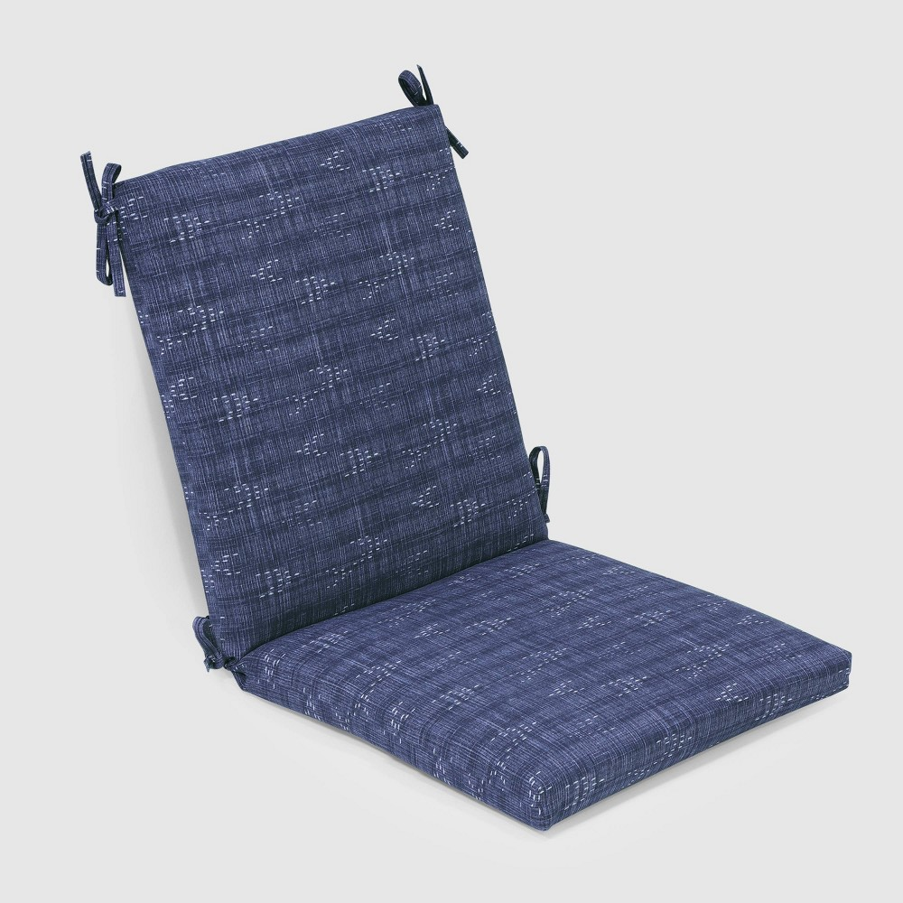 Staccato Outdoor Chair Cushion Navy (Blue) - Threshold
