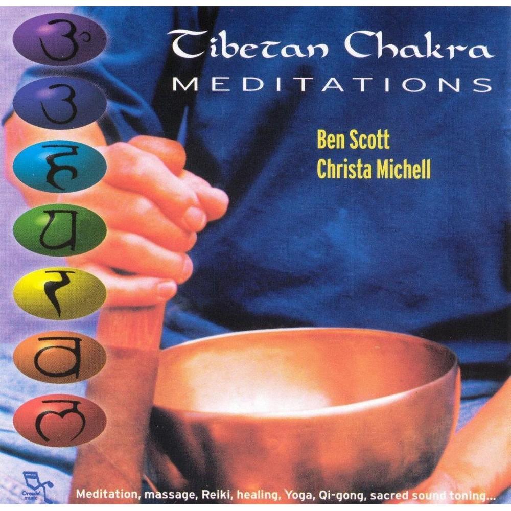 B Scott - Tibetan Chakra Meditations (CD)