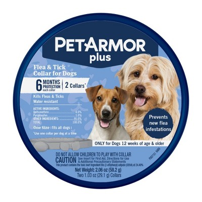 Pet Armor Plus Collar - Insect Growth Regulator for Dogs