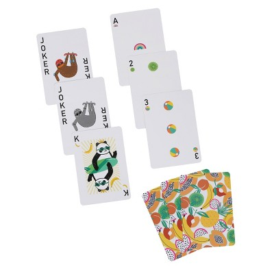 Large Travel Games Playing Cards - Sun Squad™