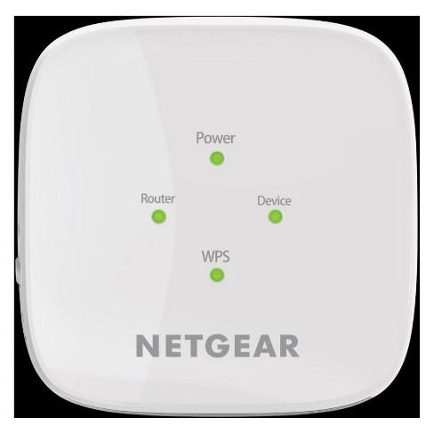 Netgear AC1200 WiFi Range Extender - White (EX6110-100NAS) - image 1 of 3