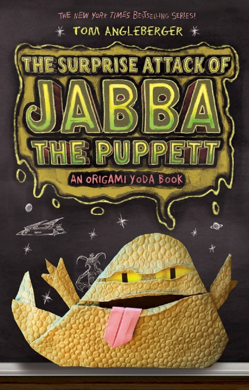 The Surprise Attack of Jabba the Puppett (Hardcover) by Tom Angleberger - image 1 of 1