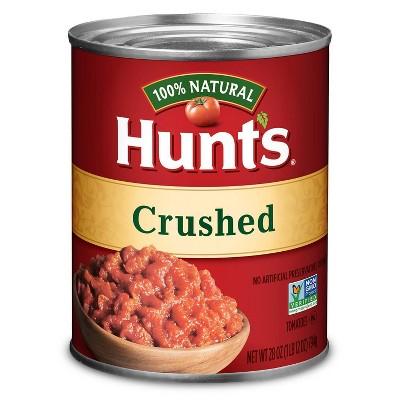 Hunt's 100% Natural Crushed Tomatoes - 28oz