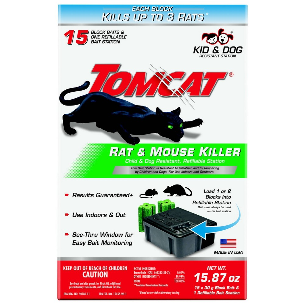 Image of Tomcat Rat and Mouse Killer