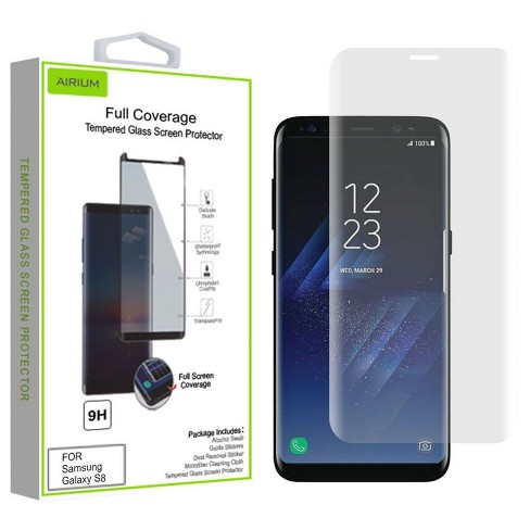 MYBAT Clear Tempered Glass LCD Screen Protector Film Cover For Samsung Galaxy S8 - image 1 of 1