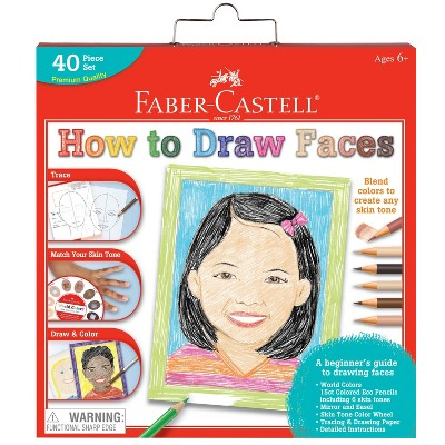Faber-Castell World Colors How to Draw Faces