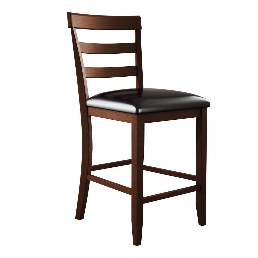 Alexander Set of 2 Counter Height Chair Brown - Abbyson Living