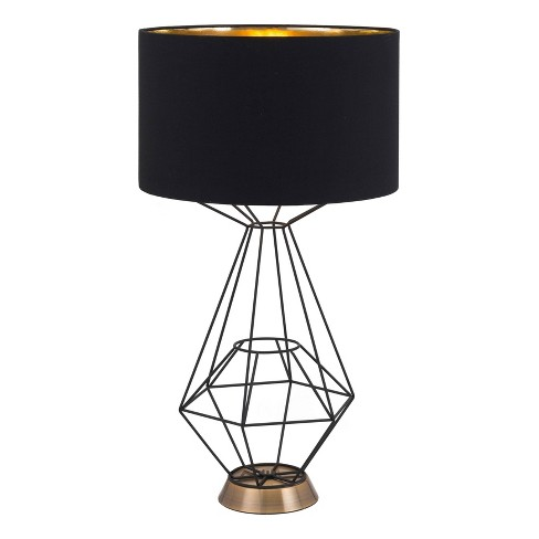 """Industrial Table Lamp Black 28""""  - ZM Home - image 1 of 3"""