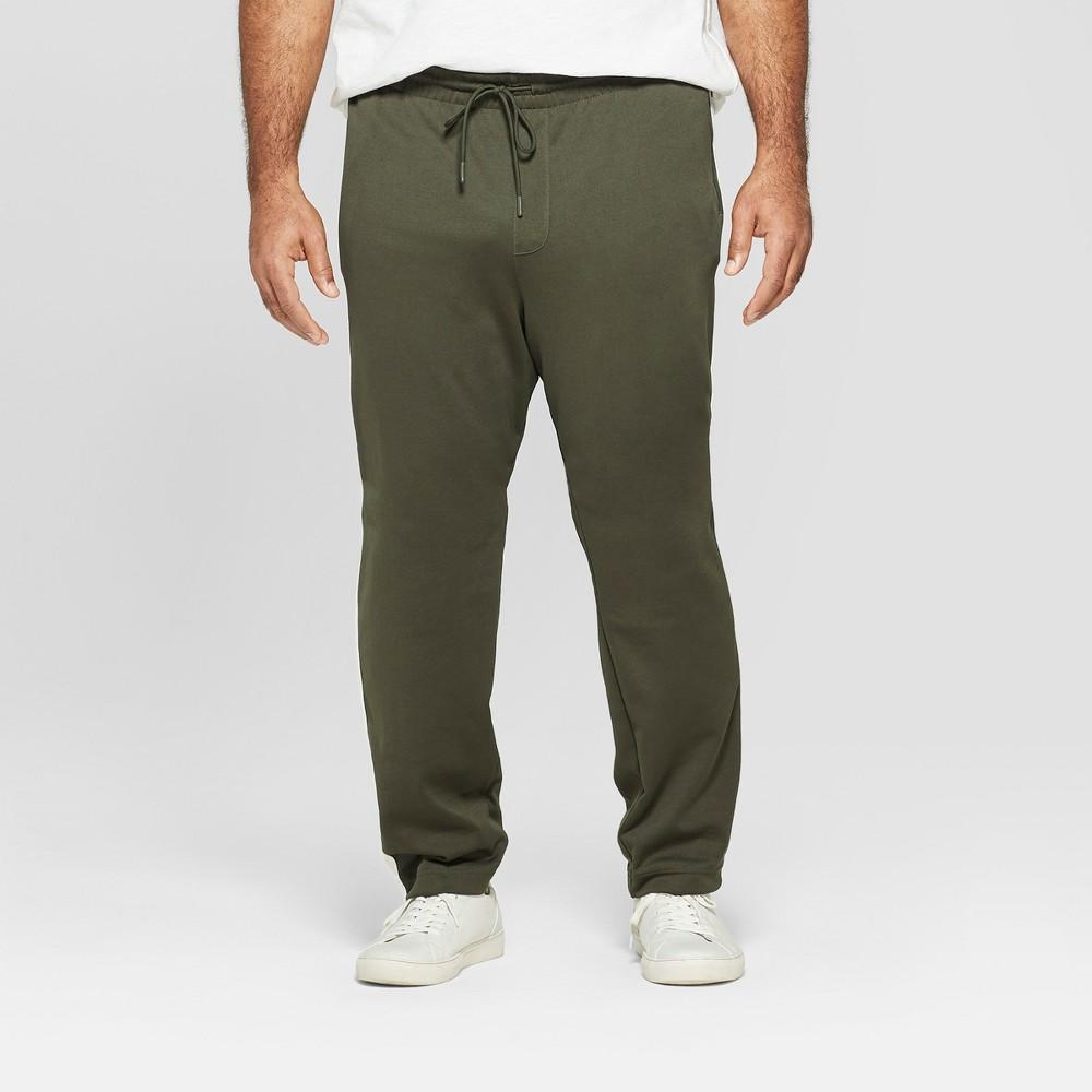 Men's Big & Tall Regular Fit Jogger Pants - Goodfellow & Co Kelp Green 5XB