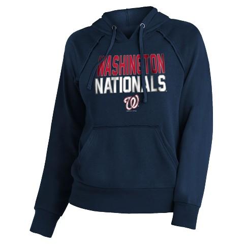 MLB Washington Nationals Women's 7th Inning Stretch Hoodie - image 1 of 1