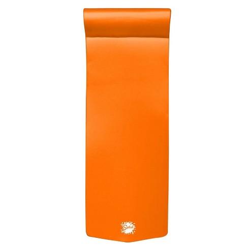 "TRC Recreation Splash 70"" Foam Raft Lounger Swimming Pool Float, Orange Breeze - image 1 of 4"