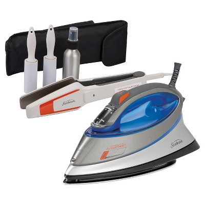 Sunbeam® Turbo Steam & Touch Up and Go Iron Bundle