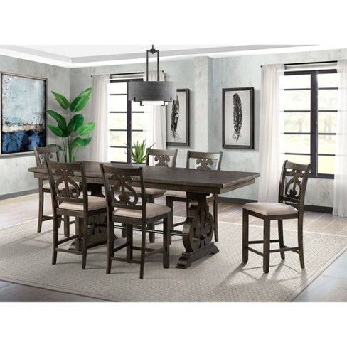Stanford Counter Height Dining Set With
