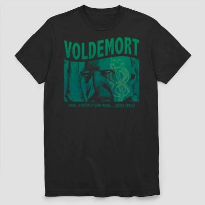 Men's Warner Bros. Voldemort Box Short Sleeve Graphic Crewneck T-Shirt - Black