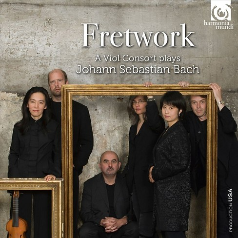 Fretwork - Fretwork plays bach (CD) - image 1 of 1