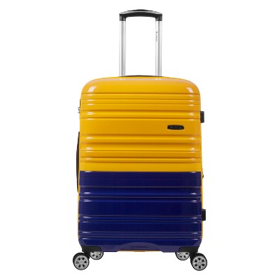 "Rockland Melbourne 20"" Expandable Hardside Carry On Suitcase"