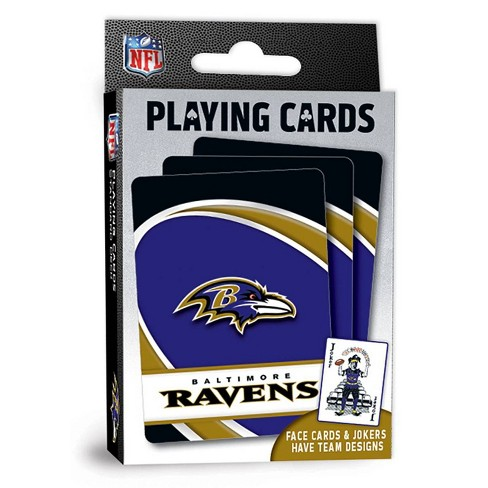 NFL Baltimore Ravens Playing Cards - image 1 of 4