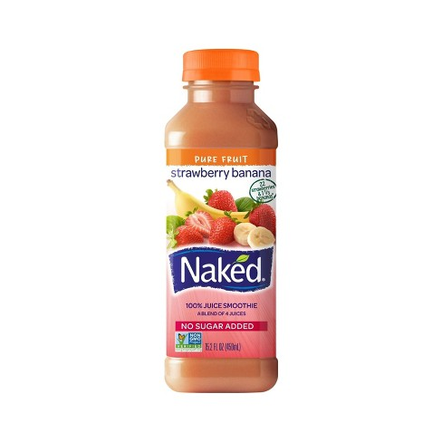 Naked Strawberry Banana All Natural Juice Smoothie - 15.2oz - image 1 of 1