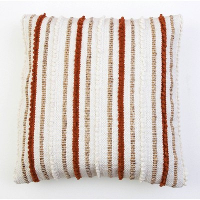 KLOVEN Cotton Pillow Umber - Décor Therapy