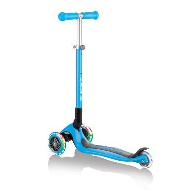 Globber Primo Foldable 2 Wheel Kids' Kick Scooter - Light Blue