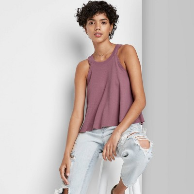 Women's Thermal Swing Tank Top - Wild Fable™
