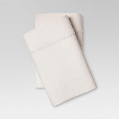 Linen Blend Solid Pillowcase Set - Threshold™ - image 1 of 1