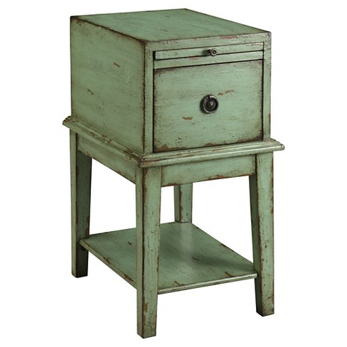 Bayford Chairside Chest - Green - Christopher Knight Home - image 1 of 2
