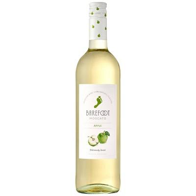 Barefoot Cellars Fruitscato Apple Moscato Sweet Wine - 750ml Bottle