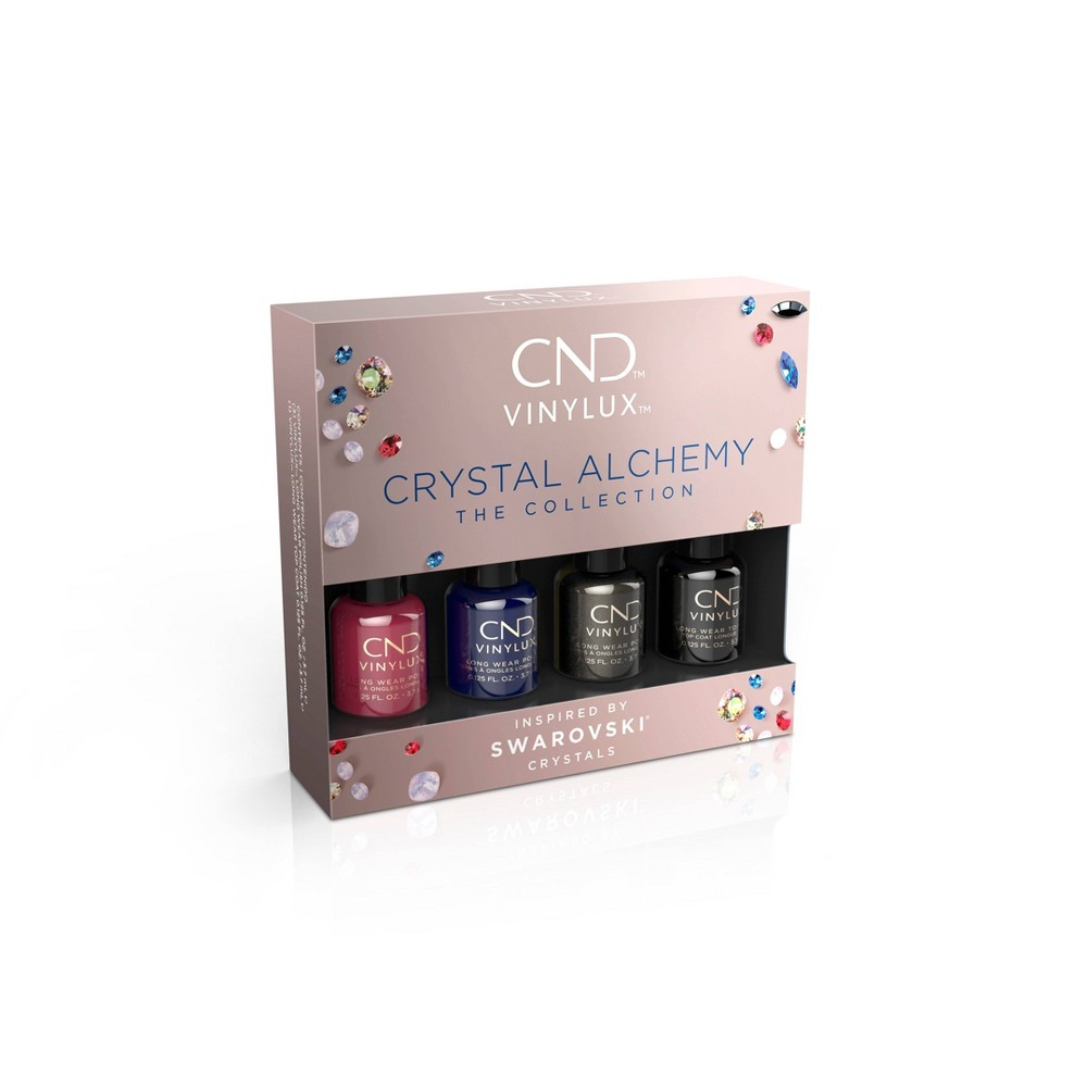 Image of CND Vinylux Nail Polish Set Pinkie Pack - 4ct