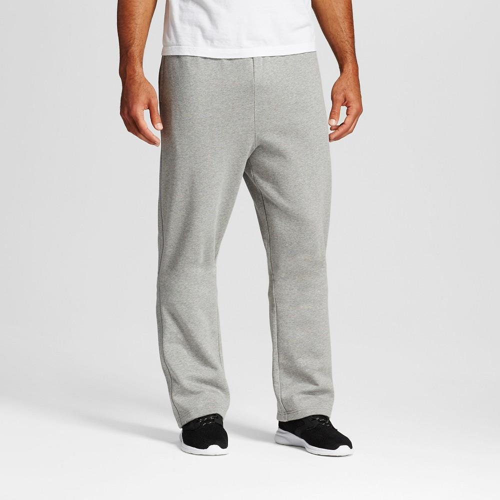 Men's Big & Tall Sizes Fleece Sweatpants - C9 Champion Stone (Grey) Gray Xlt