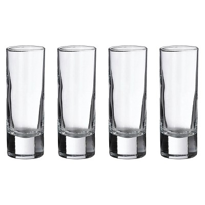 4ct Tall Shot Glasses