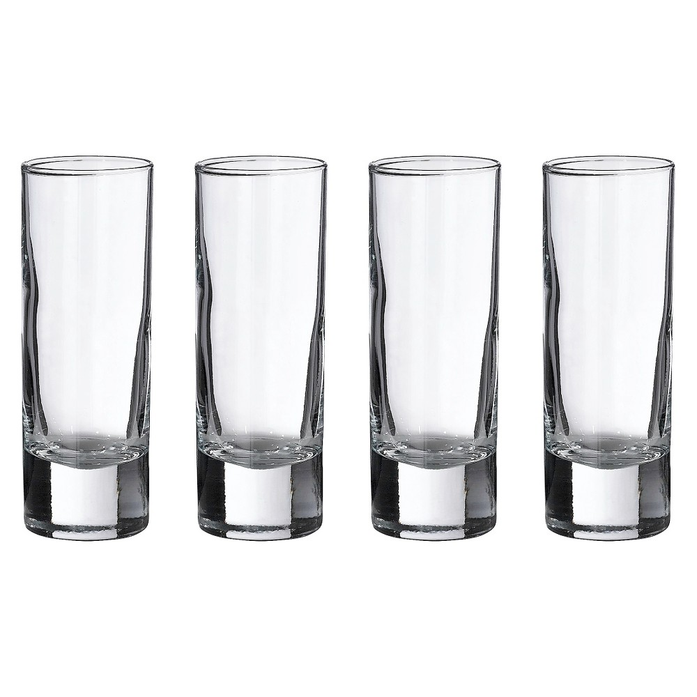 Image of 4ct Tall Shot Glasses, Clear